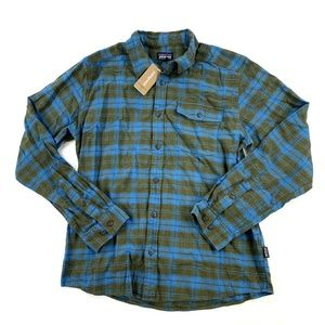 Patagonia Mens Long Sleeved Fjord Flannel Shirt
